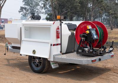 RANGER R50D-70 Trailer Jetting System